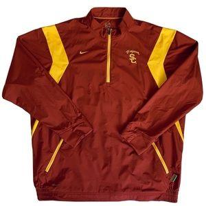 Nike Men's Size XL Burgundy USC Trojans Pull Over